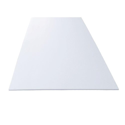 White PVC Sheet Panel 12 mm. 4 x 8 feet