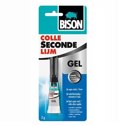 Bison Super Glue Gel Tube 3 gram