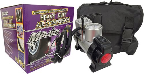 Majic 150 PSI 12 Volt Heavy Duty Portable Compressor