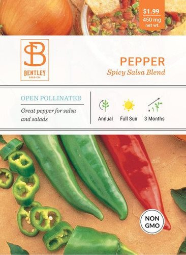 Bentley pepper - Spicy Salsa Blend